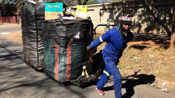 reciclador de basura