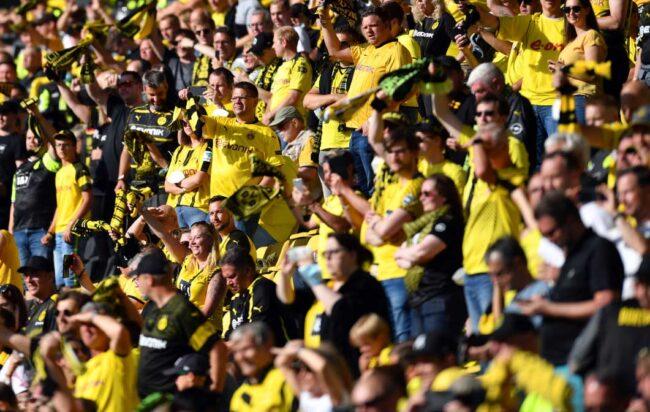 Fans del Borussia Dortmun